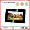 Plastic Design 7 inch single function digital photo frame