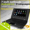 7inch laptop with 8650 windowis Ce 6.0