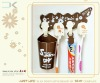 2012 HOT !!! Plastic Toothbrush Holders