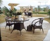 leisure garden set(1 table+2 chairs