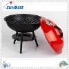 "15"" steel kettle bbq, popular shape, portable"