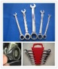 Combination Open Ratchet And Ring Ratchet Wrench