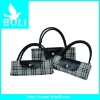 2012 zipper poly handbag tote gift promotional bag lady shoulder bag new foldable shopping Bag(BL52032SB-C)