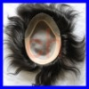 100% indian hair men's toupee
