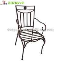 Outdoor Wrought Iron Chairs YC000830