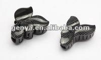 Black Carton Clip or hair clip