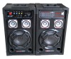 2.0 professional speaker with USB/SD, FM