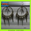 modren Hollywood design jewelry huge oversize long spike dangling charms earrings