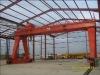 Double girder hoist trolley gantry crane 10 ton