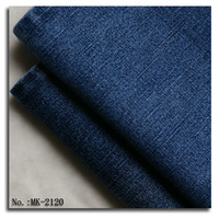 Warp slub denim fabric
