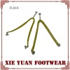 PVC upper strap for slipper