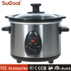 Stainless Steel Electric Slow Cooker
