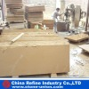 Light yellow sandstone slab, slab factory