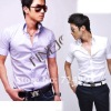 Hot Sellling cotton Men's Short Sleeve Shirt Business casual Shirt