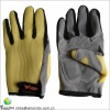 durable and protective sports gloves made of mesh cloth and synthetic leather