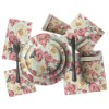 Paper Dish Set