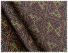 2012 Newest Cotton/flax fabric printed with pattern