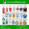 custom design acrylic plastic photo carabiner keychain key holder key ring as business promotion gifts