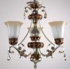 small glass cheap chandelier