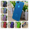 Transparent matte shell case for apple iphone 5