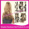 New design cambodian remy hair clip in hair extensions