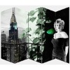Marilyn Monroe 5 panels room divider,famous people folding screen
