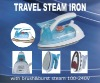 Dual VoltagesTravel Steamer with Brush