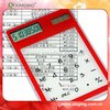 Transparent touch screen solar calculator be for promotion