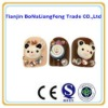 24pc/lot 3D nail art,False Nails with cute bear style,chrisms gift+gift sticker, nail art