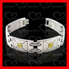 charming accessories jewelry factory couple stainless steel bracelets