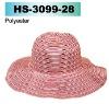 polyester ladies big brim hat
