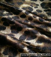 Nylon Spandex Warp Knit Stretch Satin Printed Fabric