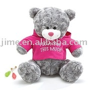 JM7735 valentine bear,Wear t-shirts bear
