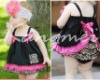 2012 cute baby girl clothes set