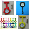 Silicone nurse watches quartz pocket watch