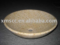 G682 natural stone wash sink
