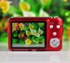 2.7 inch LCD Screen 16 million pixels Digital Camera(red)