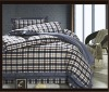 6 Pieces Grid Design Bedding Set(Yarn-dyed)