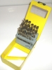 29PIECE HIGH SPEED STEEL TITANIUM COATED DRILL SET