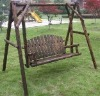 Wooden Swing seat/ stained swing /bench set