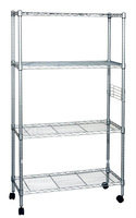 4 levels powder coating wholesale wire shelving