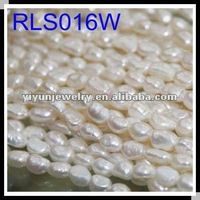 Factory Promotion 8-9mm Natural Freshwater Baroque Pearl Necklace