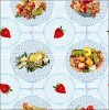 Newest fashion style printed vinyl wholesale decorative round table cloth