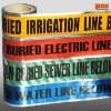 Underground water detection Aluminum Foil Warning Tape
