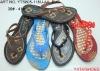 women's shoe, PVC Blowing Slipper,women's shoe,v-strap slipper,air blowing shoe,blowing slipper