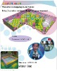 2010 new designed indoor playground equipment- Water Bed--CE, TUV certification