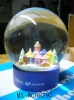 resin water globe,water globe,snow globe water globe
