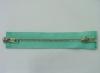 3# brass zipper two way (auto slider)