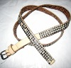Women belt/diamante belt/belt