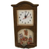 wooden craft,Clock of Tomato Design(59-XH48123A)